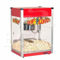 Popcorn Machine - Stainless Steel - 8 Oz
