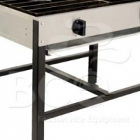 4 Burner Boiling Table Straight - Anvil