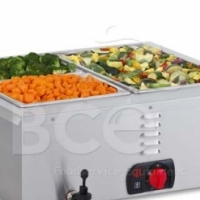 Anvil - Bain Marie Table Top - 2 Division