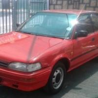 Toyota Corolla 1.3 sedan 1994 for sale , Good condition cash bargain R29,500 12valve 2E