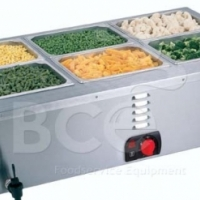 Anvil - Bain Marie Table Top - 3 Division