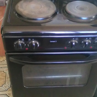 Black defy stove