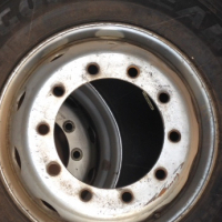 Truck Tyres with RIM For Sale - GOOD YEAR