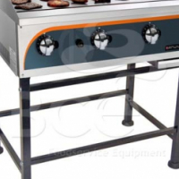 Gas Griller 400mm Stand - M/Steel