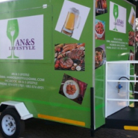 FOOD CATERING TRAILERS.