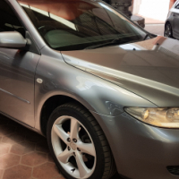 2004 Mazda 6, 2.5 Dynamic A/T for sale Sunroof, bluetooth, tow bar, leather interior, electric windo