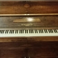 Piano refurbished tuned and serviced
