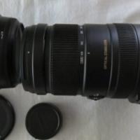 Sigma DG 120 to 400 mm lens for Nikon SLR