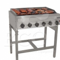 Gas Griller - Anvil - 6 Radiant - Free Standing