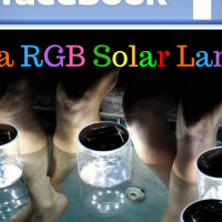 SEXY SOLAR - COMPETITION TIME- WIN A RGB SOLAR LANTERN