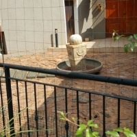concrede bridge and water feature for sale