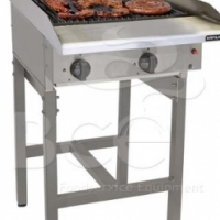 Gas Griller - Anvil - 4 Radiant - Free Standing