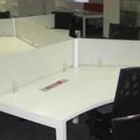 6 Desk workstation cluster