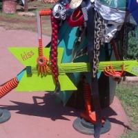 Art - Rocker made from metal - mancave goodies - R1500