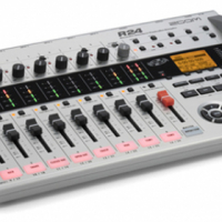ZOOM R24 TOTAL MUSIC PRODUCTION SOLUTION RECORDER,INTERFACE,CONTROLLER,SAMPLER