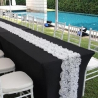 White Tiffany Chairs For hire