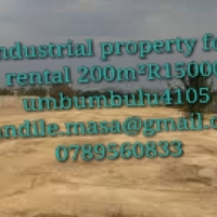 art big company I have industrial property for rental 200m²R15000