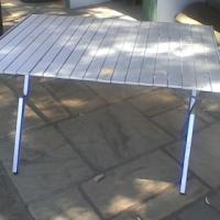 Campmaster Roll up Aluminium Table