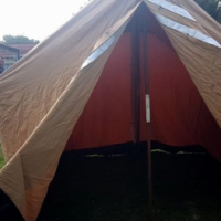 Ripstop canvas tent