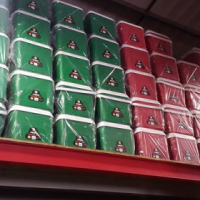 Cooler boxes green and red 25lt
