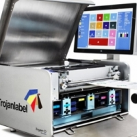 Used, Label Printing Machine - Trojan One - Prints Full Colour for sale  East Rand
