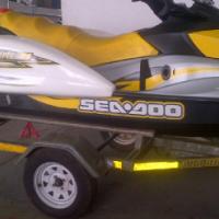 2007 SEADOO GTI 155 SE,FISHING PODS !!!!