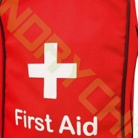 FIRST AID POUCH-CLEAR/METAL/Carry Bag