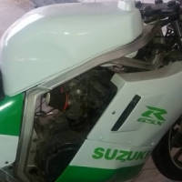Suzuki gsxr750 presling