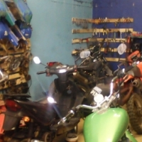 Bikes , quads , scooters etc secondhand spares & new and workshop 0796584525