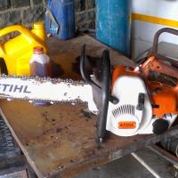 Stihl 08s chain saw