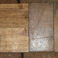 Old wooden flooring blocks / Parquet flooring