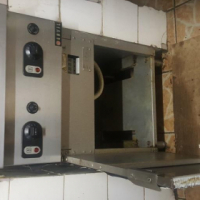 Electric large double Floor Standing chip fryer