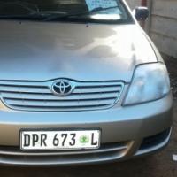 Toyota Corolla 140i For Sale