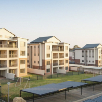1 Bed, 1 Bath, Top Floor Apartment for Rent in Crowthorne Luxury Apartments, Midrand, Johannesburg