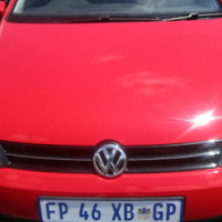 A Vw polo 1.4, model 2013, sun roof, 76000km, 4-door, red in color, full service book
