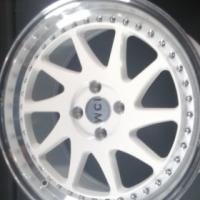 "17"" Zedd white wheels 4/100 pcd for sale new"