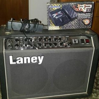 Laney vc 50 amp with Digitech RP90 processor