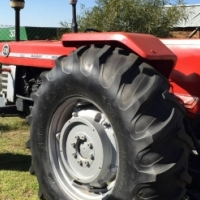 S1822 Red Massey Ferguson (MF) 178 2x4 Pre-Owned Tractor