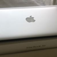 AS NEW: Apple Macbook Air,11.6 inch, dual-core Intel Core i5 with 256 flash storage.
