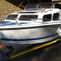 Baronet cabin with Yamaha 85 in excellent condition for sale  South Africa