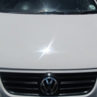 A polo 1.6 classic, 2008 model, 85000km, white in color, 5- door, factory a/c, c/d player, central l