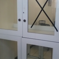WALL GLASS CABINETS for sale  Central