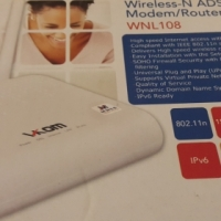VKOM Wireless-N ADSL2+ Modem/Router WNL108