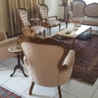 Victorian beechwood lounge suite