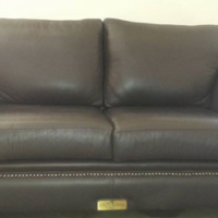 Egte buffel 3 seater bank.