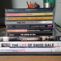DVD'S &CD's titles in photo