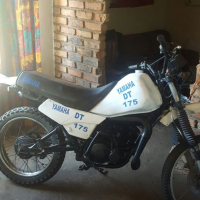 Yamaha DT 175 stripping for spares