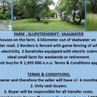 Farm Slypsteendrift - Vaalwater - +/- 6km on Melkrivier Road