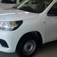 Toyota Hilux Single Cab 2.4 Diesel for sale.