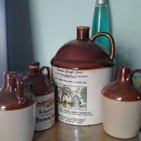 Set of 4 Ceramic Jugs